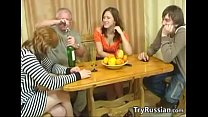 Old And Young Swingers From Russia Meet