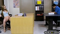 hot xxx song: Bright big tits student Lena Paul oral and fucking in class thumbnail