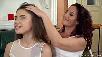 Red Mary and her younger lesbian friend Elle Rose preview image