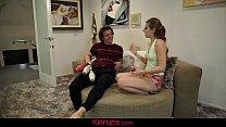 Karups - Alyce Anderson Juggles Her Step Bros Balls