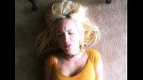 Amateur blonde masturbating thumbnail