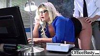 (julie cash) Big Round Tits Slut Office Girl En...