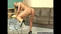 Veronika gets nude and masturbates