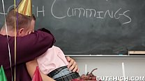 Attractive Girl Bribes the Coach preview image