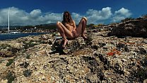 PISS PISS TRAVEL   Youn Nudist Girl Sasha Bikey