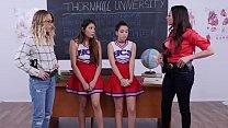 Tiny Cheerleaders In Trouble - Brooke Haze and Sami Parker صورة