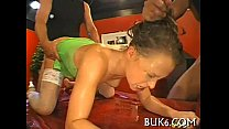 Cumshots on babe's nice-looking face porn thumbnail