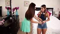 Mom sniffing the panties of a young girl! - Mindi Mink, Uma Jolie thumbnail