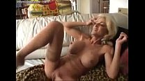 MILF fucks, squirts and swallows preview image
