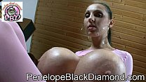 Penelope Black Diamond - Blowjob - Footjob Preview