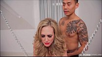 Chained Up Brandi Love Is The Fuck Slave To A Y...