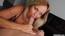 Milf Finds Young Guy In Her Room Jacking Off Hi...