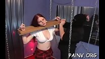 Doxy gets bound and tortured