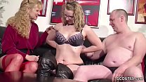 German Ugly Teen Lucy get First Fuck by Step-Da... thumb