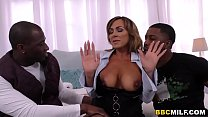 Busty MILF Aubrey Black Squirts On A Big Black ... thumb
