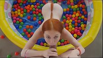 GINGER HOTTIE DREW GUY PLAYING IN THE BALL CRAWL https://www.donationalerts.ru/r/manwild   BUY ME A COFFEE thumbnail