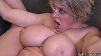 Dude anal fucks tied up busty Milf tumblr xxx video