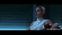 Sharon Stone In Basic Instinct 1992