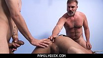 Hot Daddy Threesome - pawg porn thumbnail