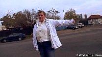 11964 Big belly fatty seduces a stranger for money preview
