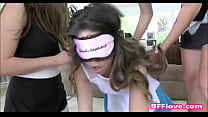 Teen Sorority Lesbians Have New Pledge Licking ...