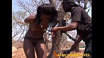 Horny african beauty getting her amazing holes demolished thumbnail