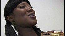 Ebony Cum Slut Hottie Bukkake Party 10 preview image