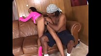 Naughty whore Autumn Rain know how to treat her man well