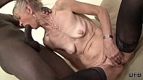 Granny Fucked Hard In Her Ass By Black Guy She
