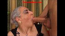 granny hot big cock italian - nonna scopa cazzo... thumb