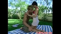 Brunette Has Anal Sex In The Park See More At T.lepslair.com