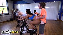 12581 BANGBROS - Fitness Trainer Brick Danger Sticks His Dick In Rose Monroe's Latin Big Ass In Spin Class preview