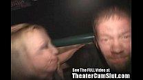 (katrina law xxx) Cum Slut Zoe Gets Jizz Coated & Creampied In Public Porn Theater thumbnail