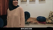 Three Muslim Teens Monica Sage Sophia Leone And Audrey Royal Have American Style Bachelorette Party Fucked By Black Stripper thumbnail