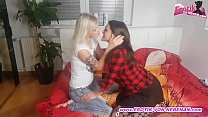 real private threesome with 2 german amateur teens after disco