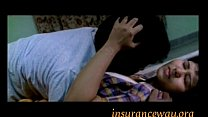Hot Girl Enjoyed on Bed in Bra Navel Kiss Groping