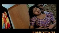 Hot Girl Enjoyed on Bed in Bra Navel Kiss Groping Preview