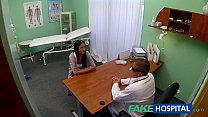 FakeHospital Young teen girl not on birth control bends over thumbnail