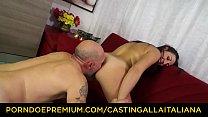CASTING ALLA ITALIANA - Hardcore anal audition with squirting mature Italian Margot Rossini thumbnail