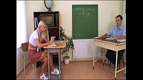 Sexy schoolgirl gets a bad grade and she's spanked and fucked! thumbnail