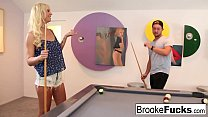 Brooke plays sexy billiards with Vans balls's Thumb