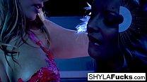 Shyla Stylez has some hot lesbian sex!