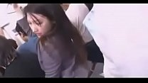 Japanese Chick Fucked By Stranger On Train