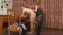 Playful mistress strats nice