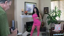 Amy Anderssen fucks like tiny rabbit and swallo...