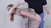 Voodoo doll girl, Kat Monroe, gets poked in mou...