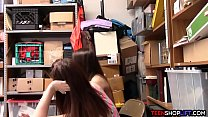 8320 Bitchy teen shoplifter caught and fucked by a security guard preview
