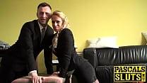Hot Sasha Steele enjoyed getting her pussy pounded by Pascal