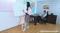 Tricky Old Teacher - Simona wanted the old teacher's dick thumbnail