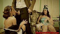 Dominated housemaid banged passionately